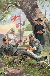 Figura 1. Cartolina italiana dell'epoca.